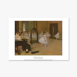The Dancing Class - 에드가 드가 009