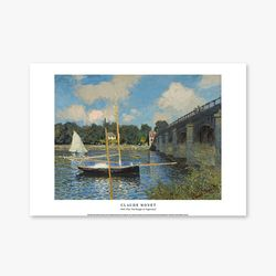 The Bridge at Argenteuil - 클로드 모네 018