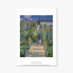 The Artist Garden at Vetheuil - 클로드 모네 023