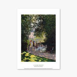 The Parc Monceau - 클로드 모네 028