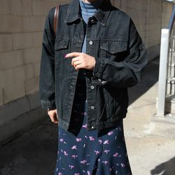 Paul boxy denim jacket