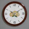 (kpl042)글로시원목 해바라기시계 400 (저소음)