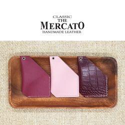 [메르카토]헥사곤카드지갑 만들기 가죽공예DIY