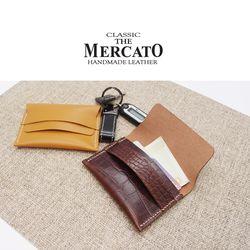 [메르카토]덮개명함지갑 만들기 가죽공예DIY