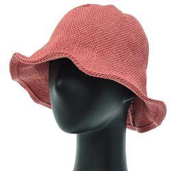 [더그레이]DKK01.손뜨개튤립 여성 벙거지 모자 버킷햇