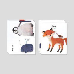 카드세트-24 애니멀 1 (김은혜)