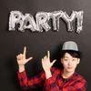 이니셜은박풍선 party (실버)