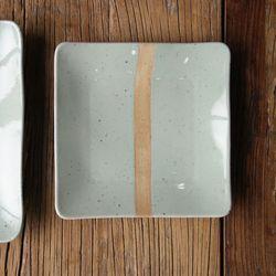 민트시리즈 정사각 접시 (중)
