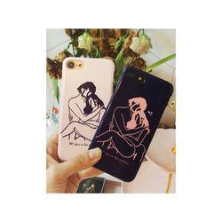 갤럭시S5 Love Drawing (하드 케이스)