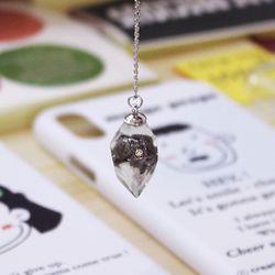 다이아몬드를 품은 운석목걸이 LMD 시리즈