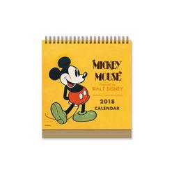 디즈니 미키 마우스 탁상달력 2018: 한정판 캘린더