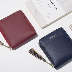 [엔비]멀티태슬반지갑/pu지갑