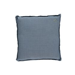 Square cushion - mini check blue (30x30cm)