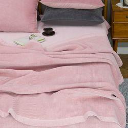 모달면벨로아스프레드 핑크 Q 기본셋