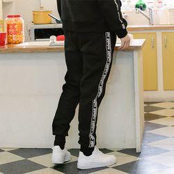 뉴해빗 - taping jogger pants - 테이핑조거팬츠