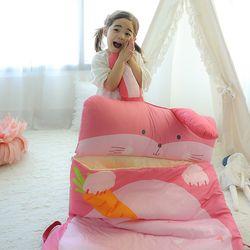 [무료배송] 유아 어린이집 일체형 낮잠이불세트 - Lala [토끼]
