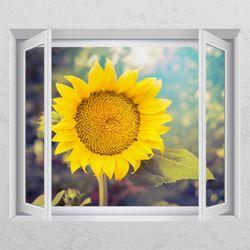tc096-몽환적인해바라기창문그림액자