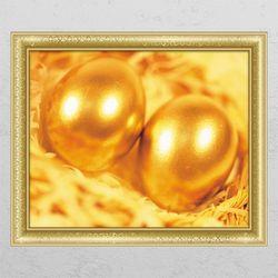 ic287-황금계란창문그림액자