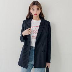 [로코식스] cello stripe JK자켓