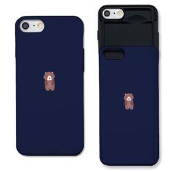 [아이폰7+] 곰돌이 v2 네이비 S3015J 슬라이더