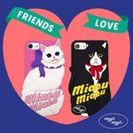[예약판매 3/5순차발송] Miaou Miaou Case (아이폰)
