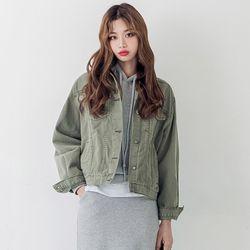[로코식스] must cotton JK자켓