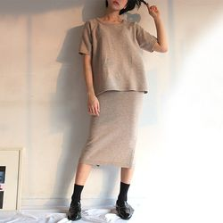 sung lamb s wool knit 2WAY (3color)