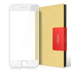 아이폰8플러스 4D 풀커버 강화유리 필름 화이트