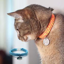 강아지목줄 고양이인식표 애견이름표 DIY