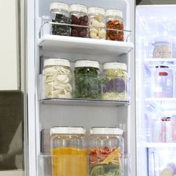 냉장실문짝용기세트1(원터치)