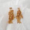 로에 나뭇잎 귀걸이 (2col)