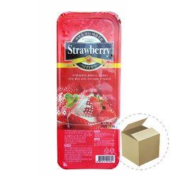 냉동-푸드웰 국내산 가당 딸기 1kg 1박스-15개