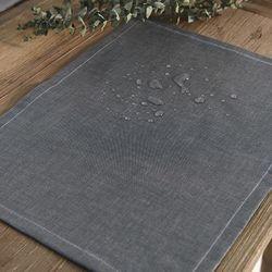 벨라이프 어반블랙 방수 식탁매트