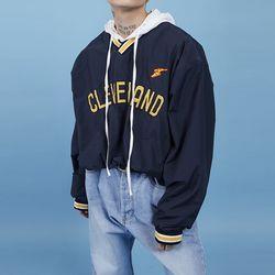 cleveland boxy sweat shirt (2 color) - UNISEX