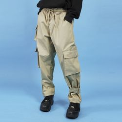 cargo buckle pants (2 color) - UNISEX