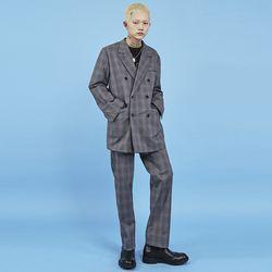 double check jacket (2 color) - UNISEX
