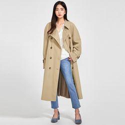 miu classic trench coat