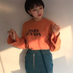 i love lenon m to m(3color)