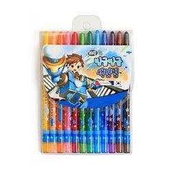 4000 빙글빙글 색연필 (12색남)