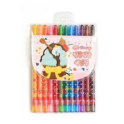 4000 빙글빙글 색연필 (12색여)