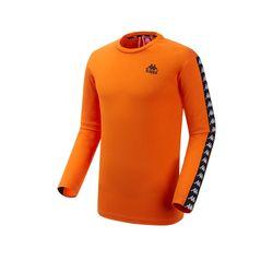 카파 222반다 사이드라인 티셔츠 KJRL152MN ORG