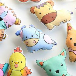 십이지신 토이쿠션 색칠공부 DIY 인형만들기