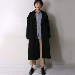 groove as over fit coat (2color)