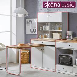 라티오 홈바 식탁세트2(수납형)