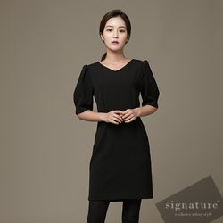 70 Cotton V dress