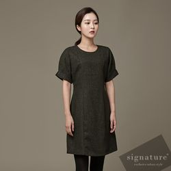 60 cotton Khaki dress