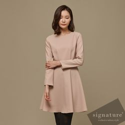 Minimal mono dress