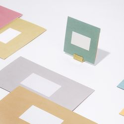 [카드세트M 랜덤증정] 심플 폴딩 카드 세트 (4매 SET) - S