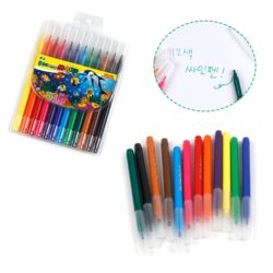 문교12색싸인펜