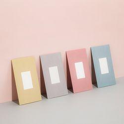 심플 폴딩 카드 세트 (4매 SET) - L